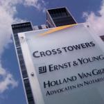 EY pilon Amszterdamban