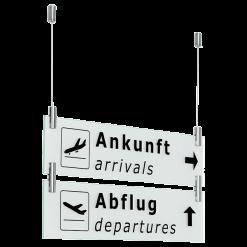 AirLine függesztett tábla kiegészítő modul