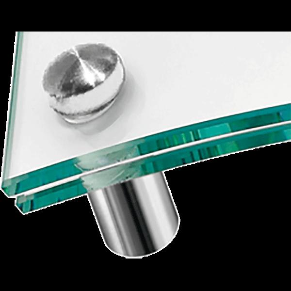 kúpos fejű ClassicLine táblatartó domború üveghez
