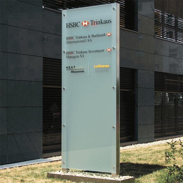 HSBC pilon Luxemburgban