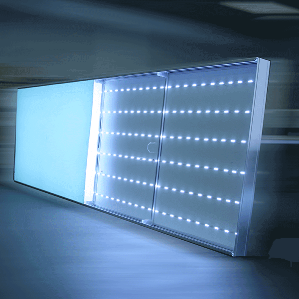 nagyméretű LED világító tábla