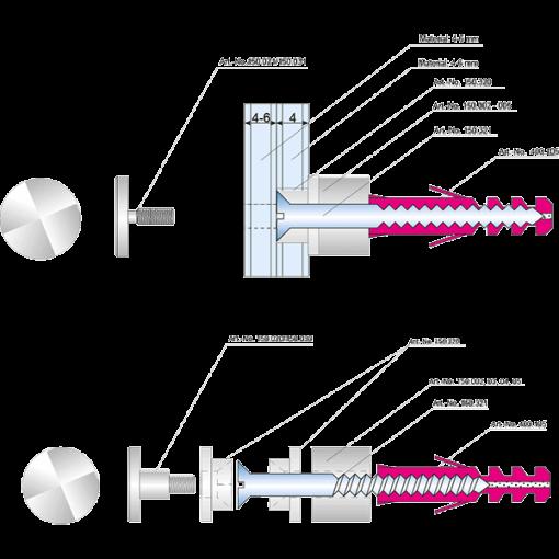 System2000 szerelési rajz