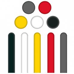 Tapintható padlójel - műanyag