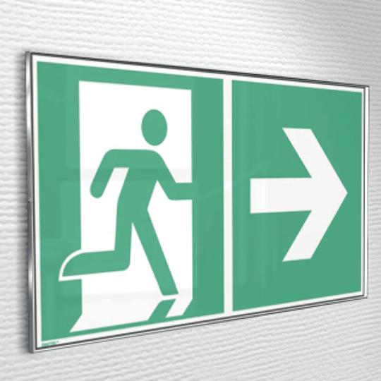 Biztonsági jelölés ClickFix táblával