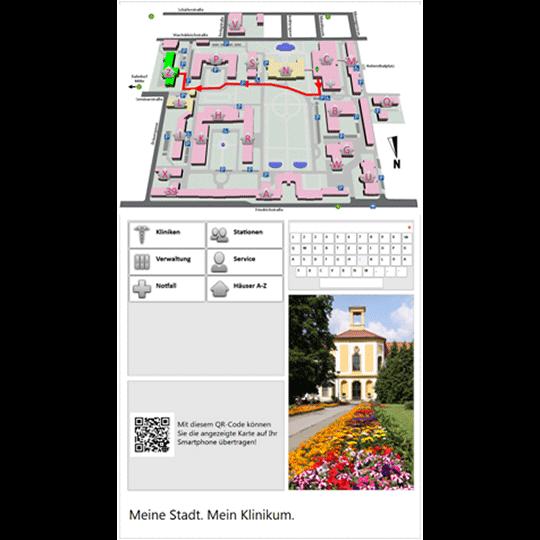 Digitális eligazító tábla kép