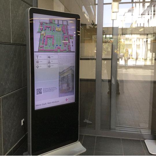 Digitális épület navigáció