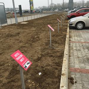 IBIS parkolótáblák