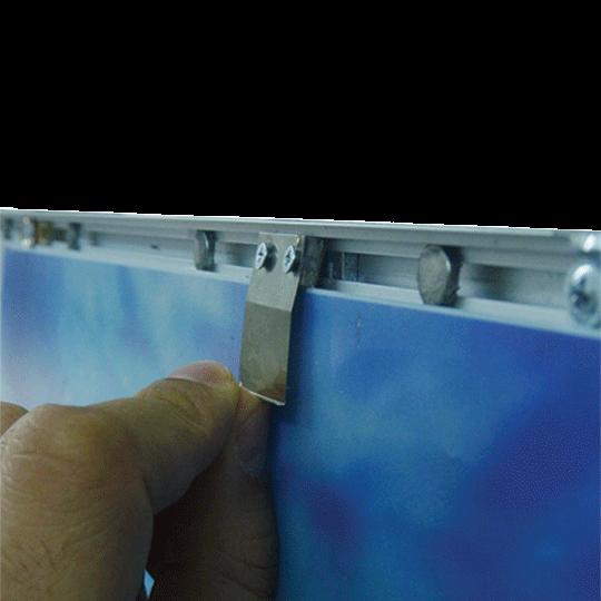 LED világító keret mágneses előlappal