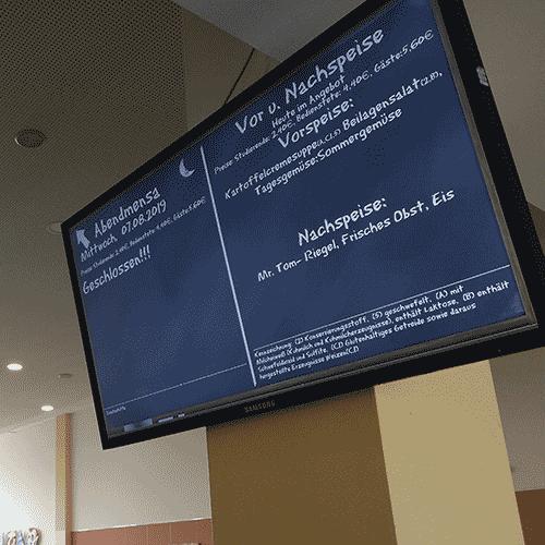 MediaFix Screen Indoor - beltéri nagyméretű digitális tábla