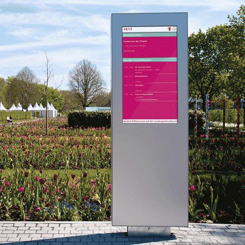 MediaFix Tower Outdoor - Kültéri digitális totemoszlop